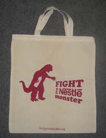 Nestlé monster bag