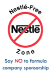 Nestle NO sponsorship