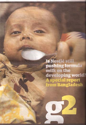 Nestlé boycott successes | Baby Milk Action