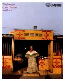 Nestle's Commitment to Africa report cover