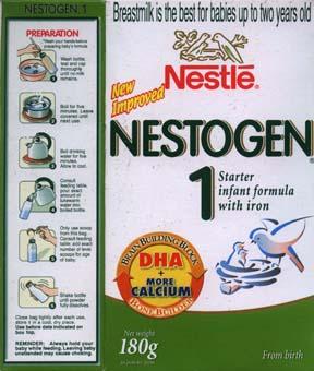 Nestlé Nestogen formula 2006